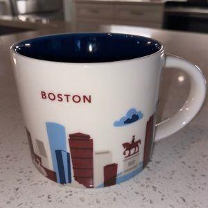 "Starbucks ""You Are Here"" Boston Coffee Mug 2013"